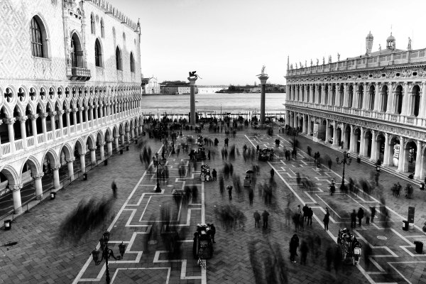 Venezia, piazza San Marco. Foto di Paolo Tarenghi