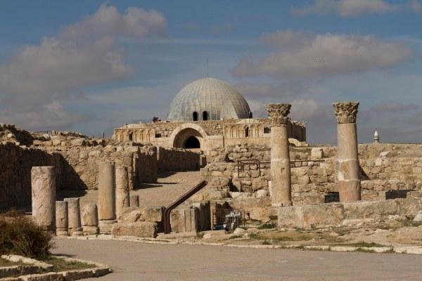 Amman, la Cittadella - Foto di Sarah Scaparone