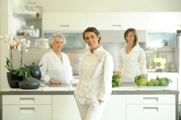 Le tre generazioni de La Maggiorana: Elena, Erica e Camilla