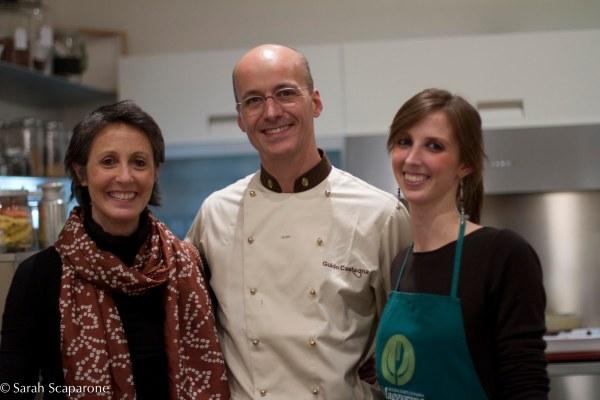 Erica Maggiora, Guido Castagna e Camilla Zuccheri
