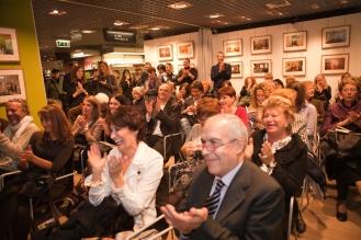 Tanti amici alla presentazione. Foto di Tiziano Nobile