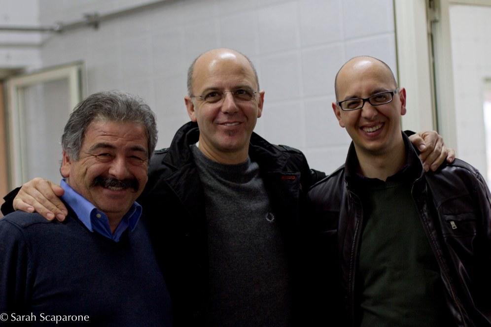 Mimmo La Vecchia, Franco Pepe e Vincenzo Coppola