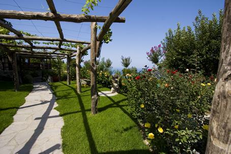 Il giardino al Pera di Basso