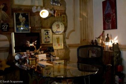 Lo scrivania di Gino Sorbillo