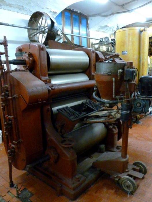 Raffinatrice a cinque cilindri 1