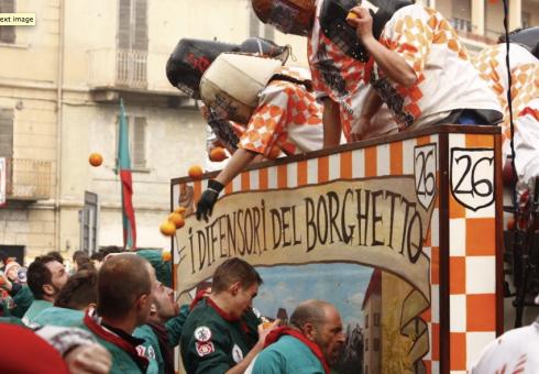 Foto tratta dal sito storicocarnevaleivrea.it