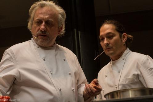Davide Scabin e Giuseppe Rambaldi