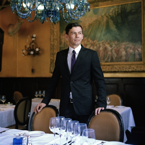 Maxim Rinen, Head Waiter