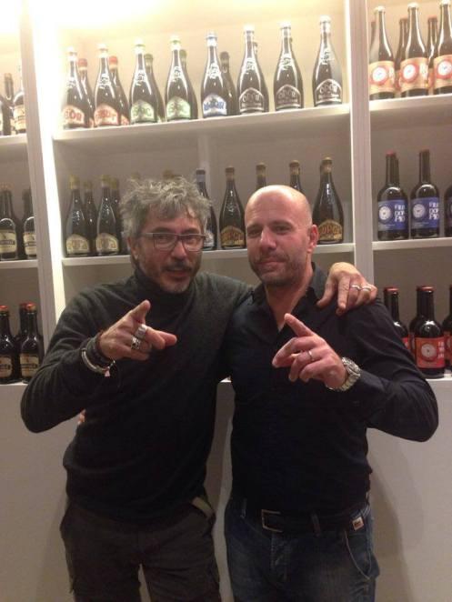Teo Musso con Nicola Lentini