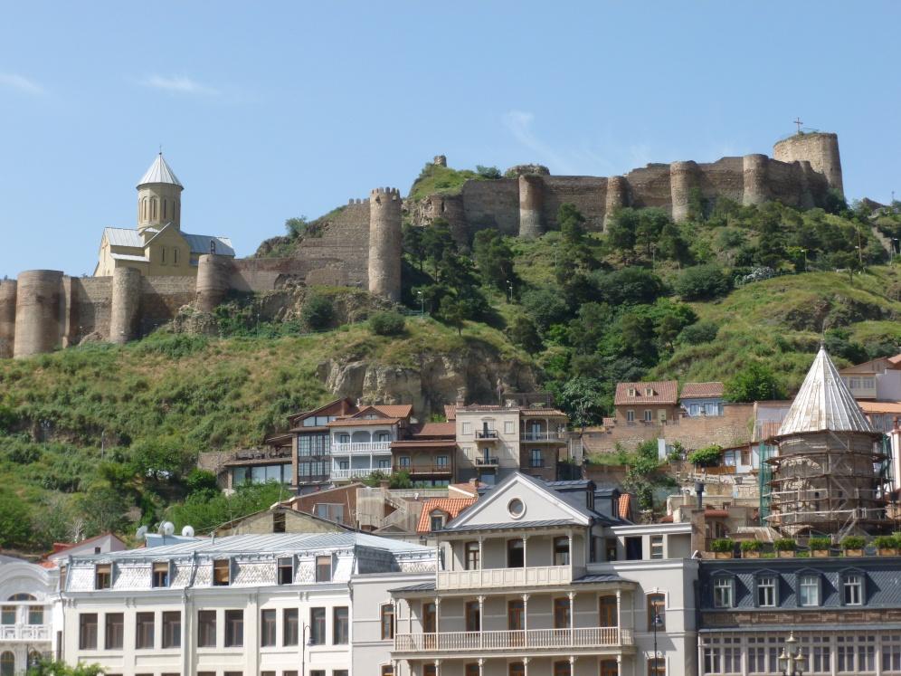 Tbilisi, la fortezza