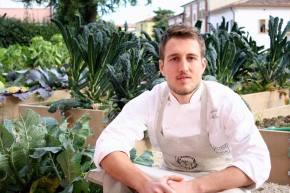Alberto Morello e l'orto inpizzeria