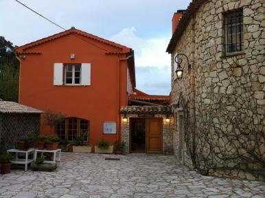 L'ingresso di Chez Camille