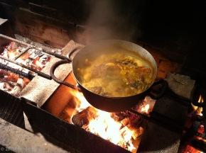 La bouillabaisse è da Chez Camille aRamatuelle