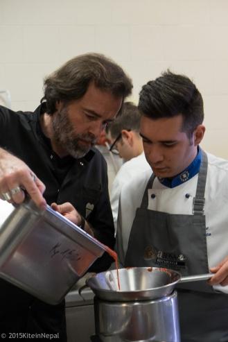 Simone Bonini con Marco Vece