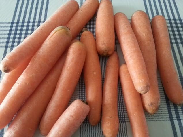 Carote arancioni