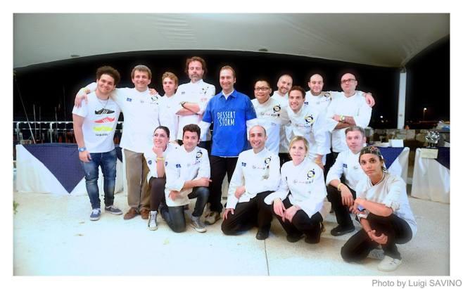 Il team di pasticceri di Festa a Vico 2014