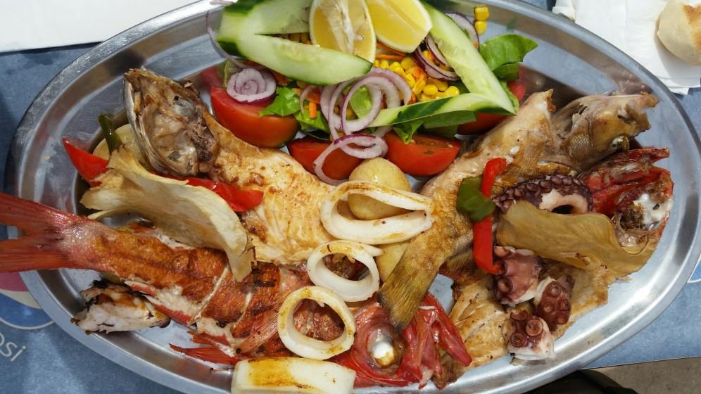 Varietà di pescado locale