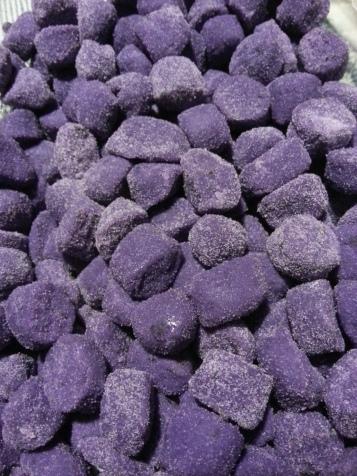 Gnocchi di patate viola di Sauze d'Oulx