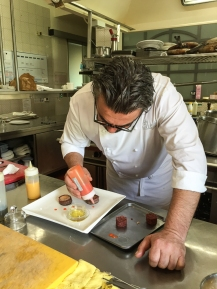 Philippe in cucina