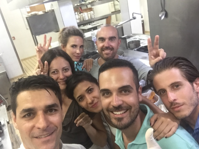 Tutto il gruppo con Pasquale Palamaro