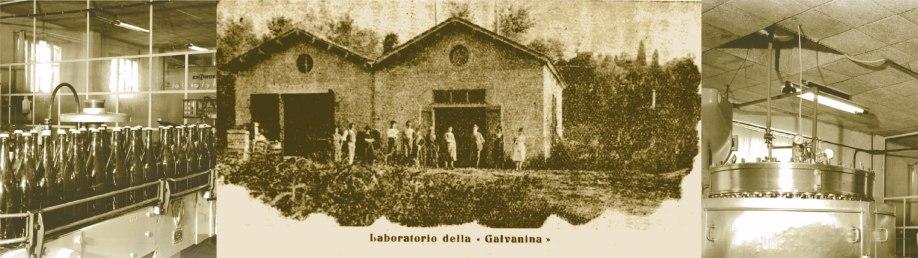 Il vecchio stabilimento Galvanina