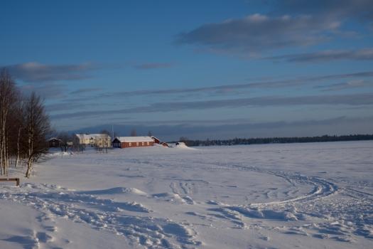 Il lago di Ylläsjärvi