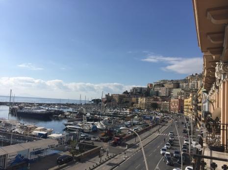 Via Caracciolo a Napoli
