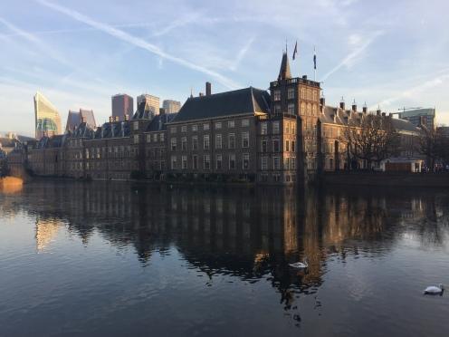 Il Binnenhof, sede del parlamento olandese