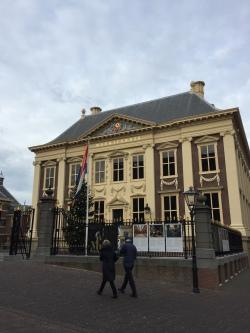 L'ingresso del Mauritshuis