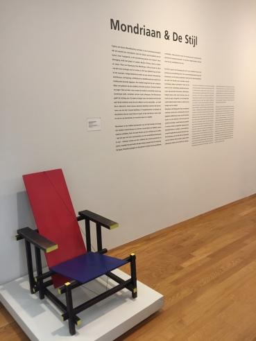 La celebre Sedia di Piet Mondriaan
