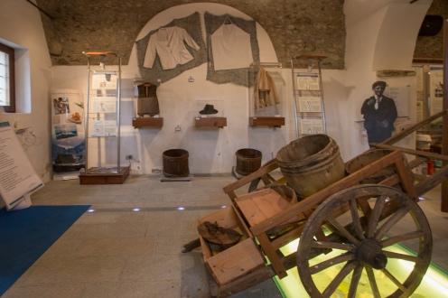 Il Museo degli acciuga di Celle Macra