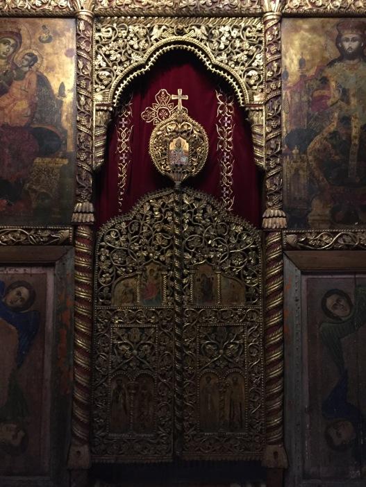 Interno del Monastero di Saint Naum