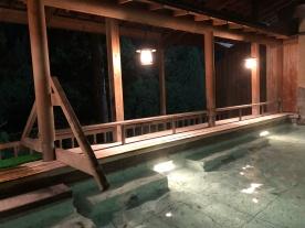 L'onsen del ryokan Sankyo no yado Ginzan-so