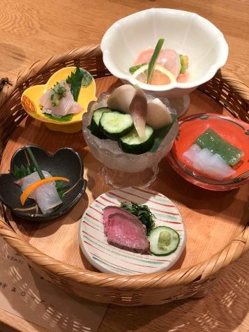 Esempi di cucina kaiseki