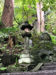 1000 grandini conducono al Risshaku-ji Temple