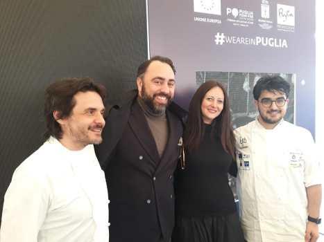 Insieme a Antonio Zaccardi, Antonello Magistà e Pasquale Laera