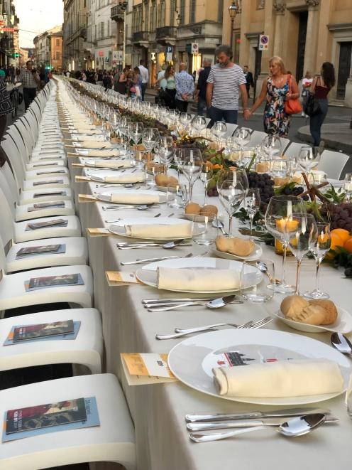 Parma, Cena dei Mille