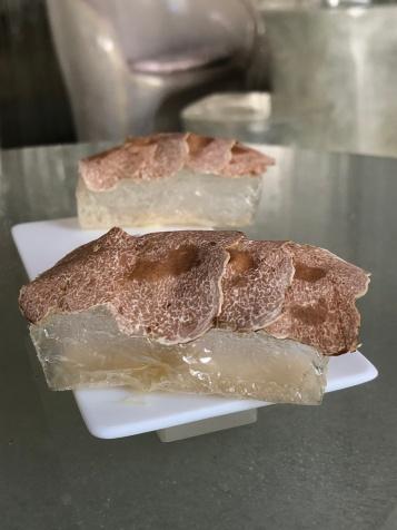 Enigma, Pane di cristallo con tartufo bianco d'Alba