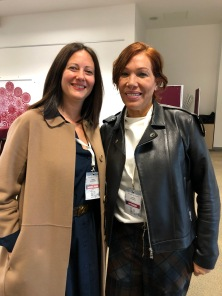 Con Leonor Espinosa e Fote2019