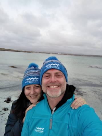 Con Denis Lovatel in Irlanda durante Fote